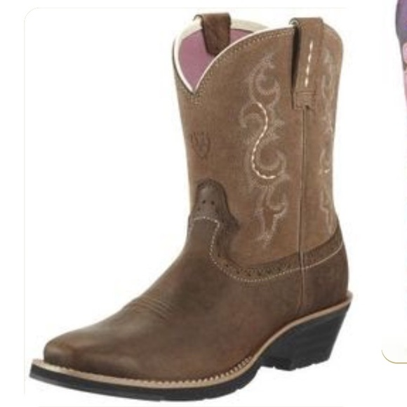 2d4474d2f42 Ariat Boho Brown Leather Embroidered Country Boots